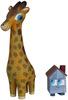 Giraffe and House