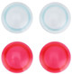 "Light Blue / Hot Pink Lenses (6"" Squadt)"