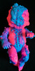 AUTOPSY ZOMBIE STABLE BABY - NEON PUKE - PINK/BLUE