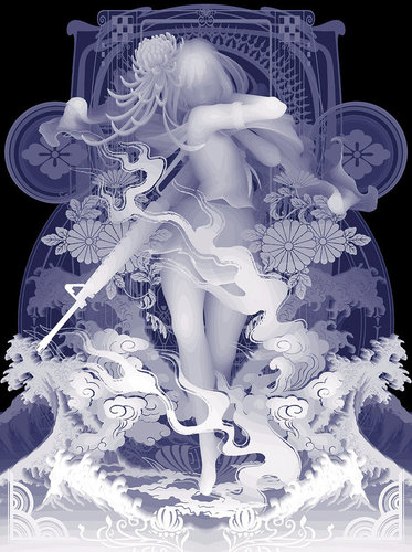 Decoration_armament_i_mow_down_all_things_which_obstruct_my_way-kazuki_takamatsu-mixed_media-trampt-279738m