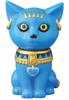Blue Bastet God