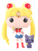 SAILOR MOON - SAILOR MOON w/ MOON STICK & LUNA