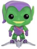Translucent Glitter Green Goblin with Glider (SDCC '16)