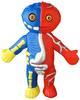 Gakky kun - Red/Blue (Medicom Exclusive)
