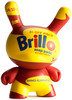 Yellow & Red Brillo