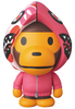 VCD Baby Milo - Pink Shark Hoodie