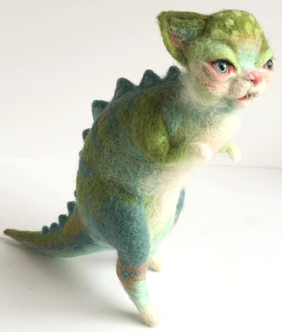 Dinokitty_kittyrex-mab_graves-needle_felt-trampt-282998m