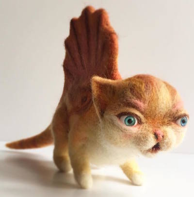 Dinokitty_dimetrodon-mab_graves-needle_felt-trampt-282999m