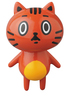 VAG (Vinyl Artist Gacha) - Series 8 - Orange Zodiac Cat