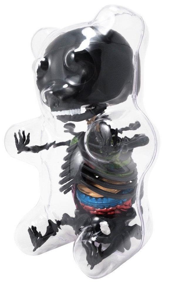 Gummi bear anatomy puzzle toy - black Gummi Bear A... | Trampt Library