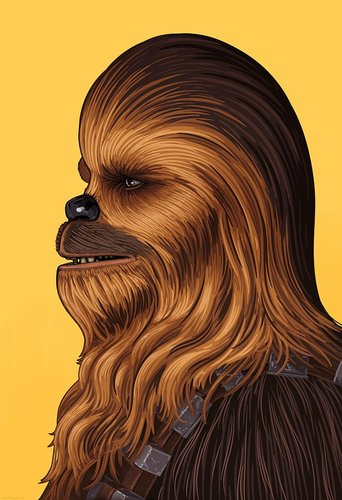 Chewbacca-mike_mitchell-giclee_print-trampt-283515m