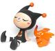 Greenie & Elfie Halloween Special Edition: Orange