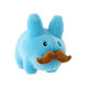 Blue Stache Labbit - 7""