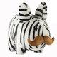 """Zebra Stache Labbit - 14"""""""