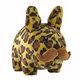 "Leopard Stache Labbit - 14"""