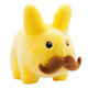 Yellow Stache Labbit - 7""