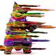 Blown Away Negora Rainbow & Rainbow Glitter Jam