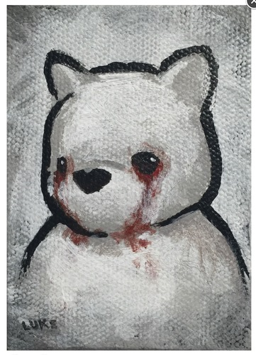 Blood_on_my_face__tears-luke_chueh-acrylic_on_canvas-trampt-285168m