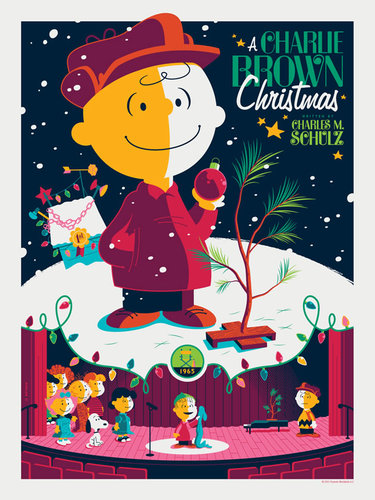 A_charlie_brown_christmas_silver_bells_variant-tom_whalen-metal_print-dark_hall_mansion-trampt-285612m