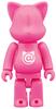 100% NY@brick Flourescent Pink