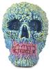 Lepreskar Skull - Blue on Fire