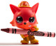 Crayola Coloring Critter - Brick Red Fox