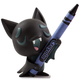 Crayola Coloring Critter - Black Bat