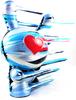 """8"""" Valentine Blown Away - Cold Bleeding Heart"""