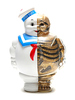 Full Color Gold Glitter Variant Marshmallow Man X-Ray