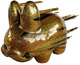 "5"" Blown Away Labbit - Gold Rush"