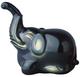 Jakuchu Elephant Black