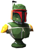 Low Poly Boba Fett Bust