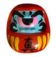 Fortune Daruma - Red w/ blue face/pink eye