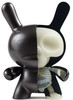 Black GID Half Ray Dunny (Kidrobot Exclusive)