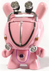 Mini VW Dunny - Bubblegum Pink