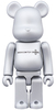 Be@rbrick Silver Basic - Medicom Toy Plus