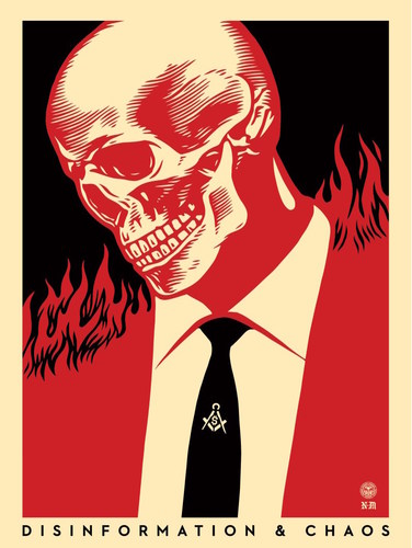 Disinformation__chaos-francisco_reyes_jr_shepard_fairey-screenprint-trampt-289949m
