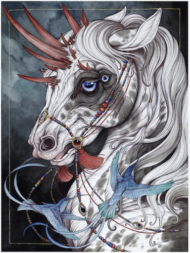 The_gift_horse-caitlin_hackett-gicle_digital_print-trampt-289967m