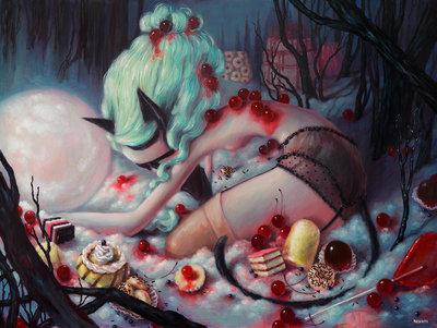 Fiendthe_ever_hunger_wild_beast-brandi_milne-acrylic-trampt-290550m