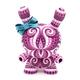 Pink lady dunny 8''