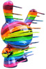 "20"" Rainbow Glitter Blown Away Dunny"