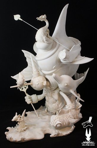 Beyond_the_sea_fine_art_sculpture-craola_greg_simkins-beyond_the_sea-silent_stage_gallery-trampt-291567m