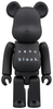 100% - Black Nanoblock Be@rbrick