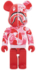 1000% Full Red Camo Shark Be@rbrick