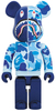1000% Full Blue Camo Shark Be@rbrick