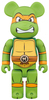 400% Teenage Mutant Ninja Turtles - Michelangelo Be@rbrick