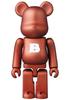 Basic Be@rbrick - Copper 'B'