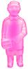 Clear Pink Sofubi-man