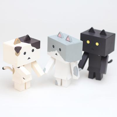 Nyanboard_cat_set-yotsuba-danboard-kaiyodo-trampt-293080m
