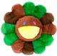 60CM Green & Brown Flower Cushion